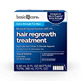 Basic Care Minoxidil Topical Solution, 5%, Hair Regrowth...