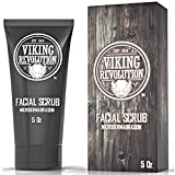 Viking Revolution Microdermabrasion Face Scrub for Men -...