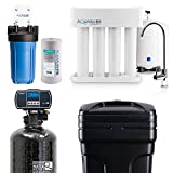 Aquasure Whole House Water Filtration Bundle w/Water...