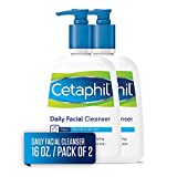 Cetaphil Facial Cleanser, Daily Face Wash for Normal to Oily...