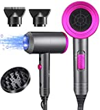 Ionic Hair Dryer, 1800W Professional Blow Dryer (with...