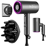 Brightup Hair Dryer Blow Dryer, Professional Ionic Hair...