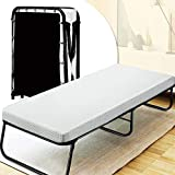 Quictent Heavy Duty Folding Bed with 2 Extra Support Belts,...