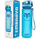 Embrava Best Sports Water Bottle - 17oz Small - Eco Friendly...