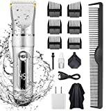 KERUITA Electric Hair Clippers for Men Quiet LED Display...