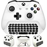 Whiteoak Xbox One S Chatpad Mini Gaming Keyboard Wireless...