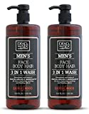 Dead Sea Collection Men's Mineral Face, Hair & Body Wash...