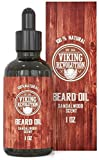 Beard Oil Conditioner - All Natural Sandalwood Scent with...