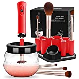 Makeup Brush Cleaner, Electric Makeup Brush Cleaning Dryer...