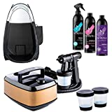 Aura Allure Spray Tan Machine Kit with Norvell Sunless...