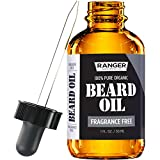 Fragrance Free Beard Oil & Leave In Conditioner, 100% Pure...